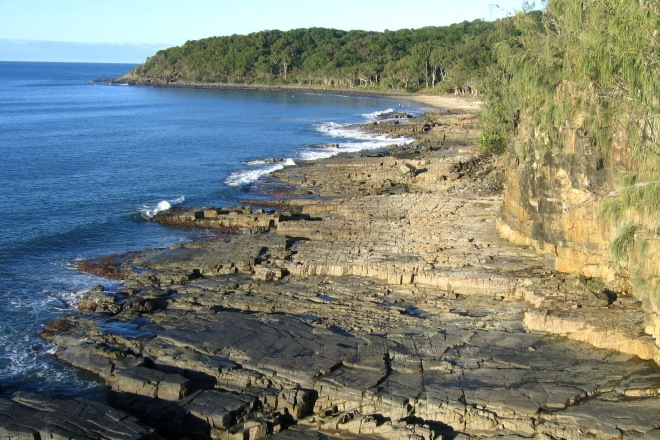 Noosa National Park borders the coast