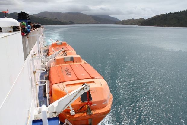 Out of the rough stuff and in the  Marlborough Sounds