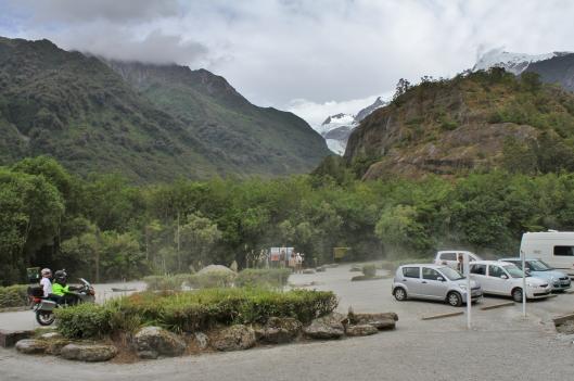 Franz Josef Glacier carpark