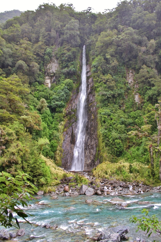 Thunder Creek Falls, Haast Pass