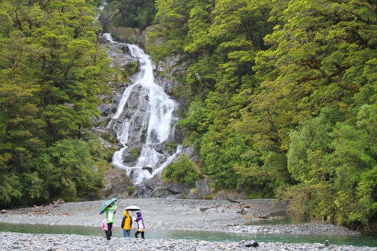 Fantail Falls, Haast Pass