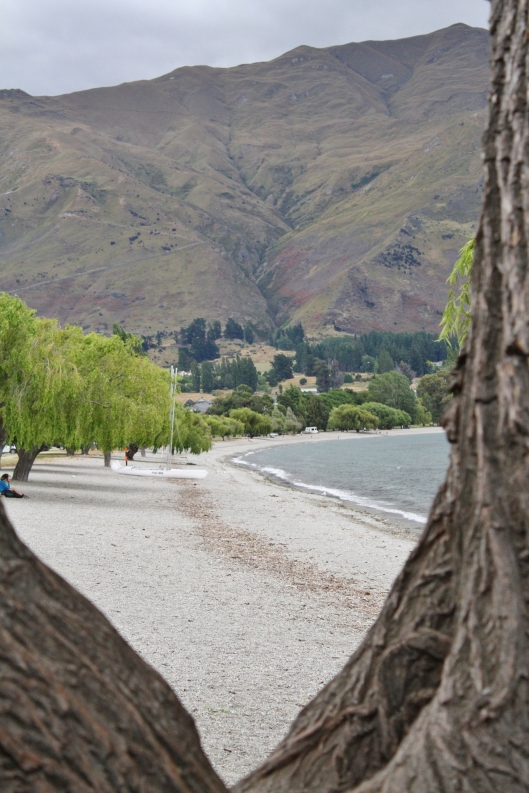 Southern shore of Lake Wanaka