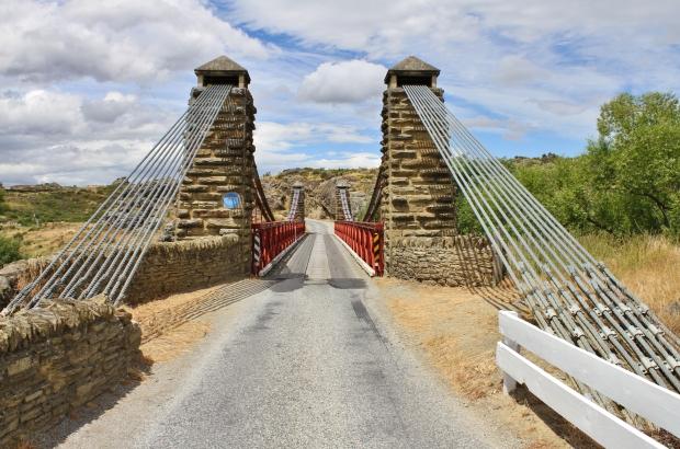 The iconic Daniel O'Connell suspension bridge