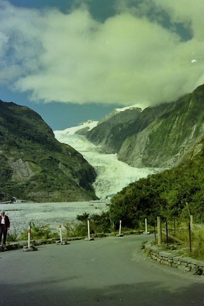 Franz Josef Glacier in 1995
