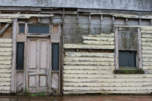Decaying building at Fortrose