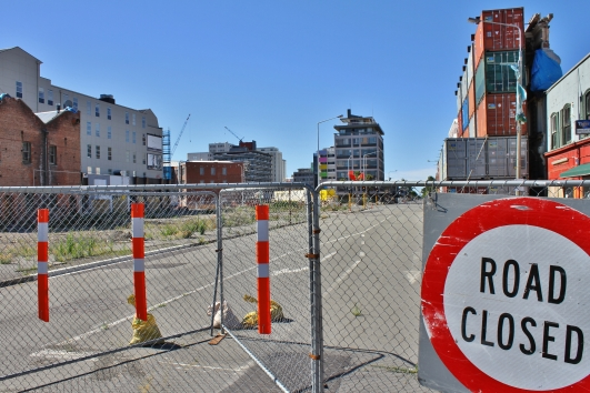 Red zone, Christchurch
