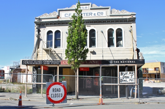Red zone building, Christchurch