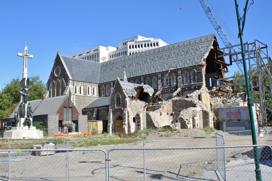 There has been much controversy and debate over the fate of the cathedral and I still don't think it's been resolved