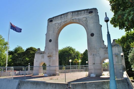 The Bridge of Remembrance memorial was unveiled in 1924 and looks remarkably ok. But the arch is cracked and needs >$2m to fix. With no timeframe on that, it's been left in a vulnerable state with a decision made to not erect temporary reinforcing