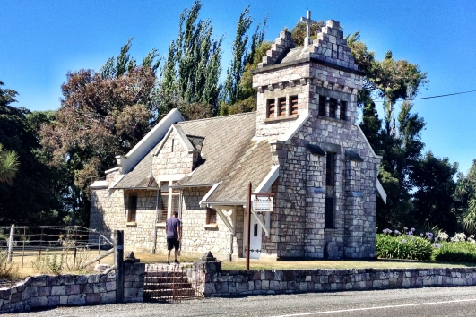 St Oswalds Church, Wharanui, built in 1927...