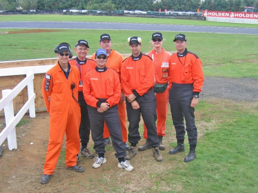 My flag crew in 2006