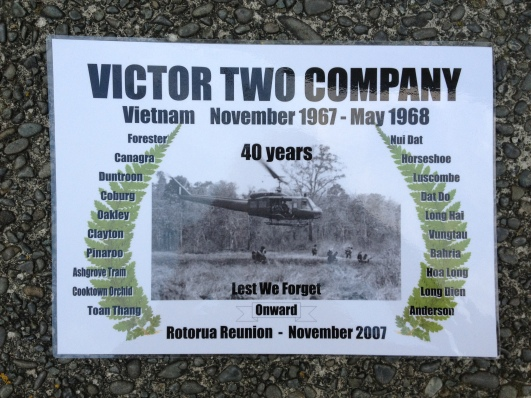 In 2007 Dad's company marked the 40th anniversary of its deployment to Vietnam