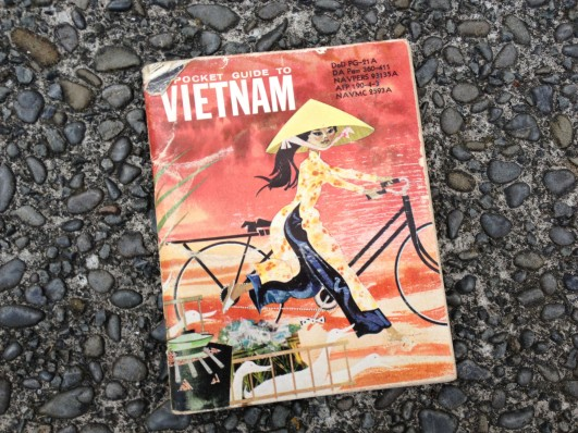 Dad's old pocket guide to Vietnam - a US publication distributed to foreign soldiers