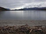 Lake Wanaka from Glendhu before the start of the Motatapu race