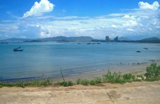 On the outskirts of Da Nang