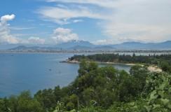Da Nang from Son Tra Peninsula