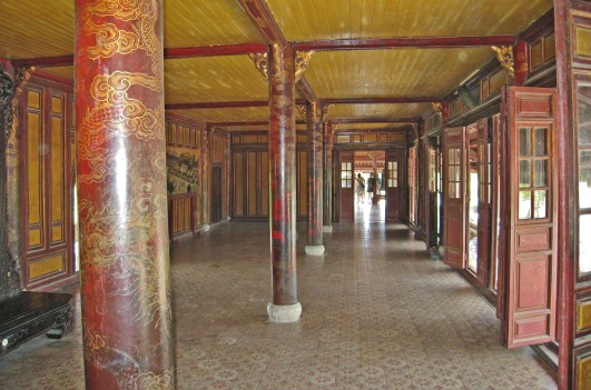 Interior of the Thai Hoa Palace