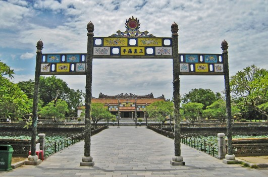 "Gate to Thai Hoa Palace, ""Palace of Supreme Harmony"""