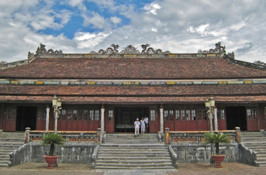 Thai Hoa Palace was an important ceremonial venue