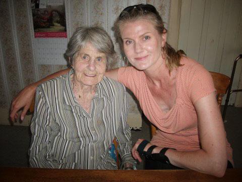 Me and Gran 2013...