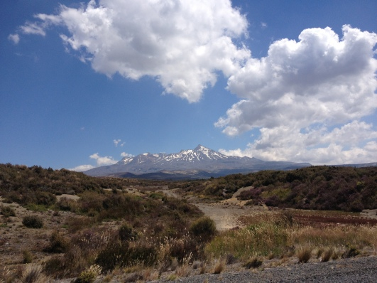 Mt Ruapehu from Desert Rd