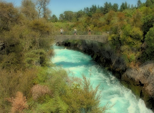 Bridge over Huka Falls