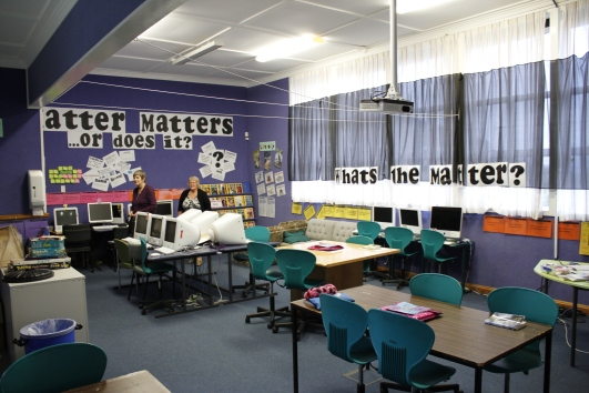The old Junior Room, where I first began my school life