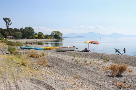 Hatepe lakeside