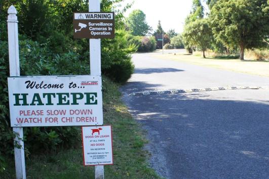 Hatepe sign