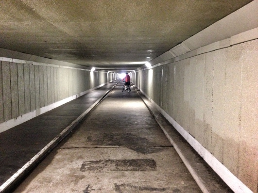 Wellington airport underpass