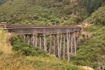 Wingatui Viaduct is the country's largest wrought iron structure