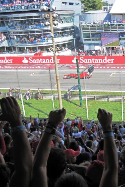Ferrari win!