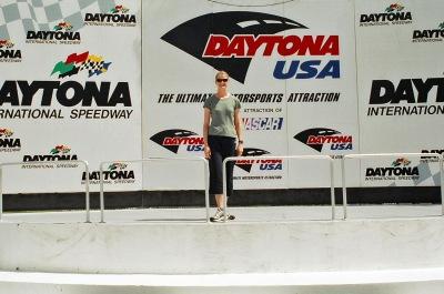 I'm a winner, sort of. At Daytona Speedway, 2004