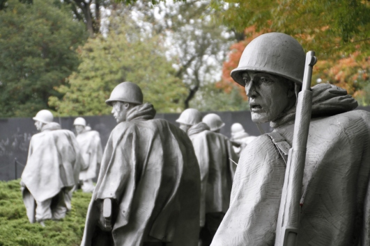 The amazing Korean War Memorial