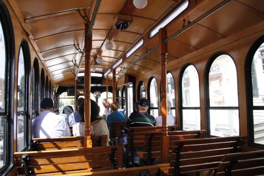 trolley, fredericksburg