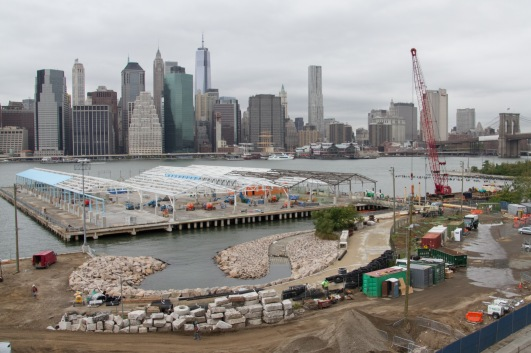 Brooklyn riverfront development