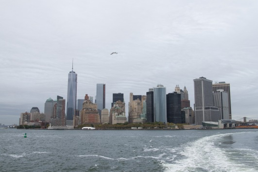 Lower Manhattan from the Staten Island Ferry