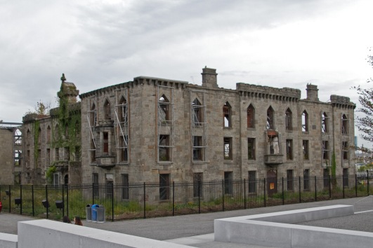 This fabulous structure was the main compulsion for visiting Roosevelt Island. It was a smallpox hospital from the mid-1800s but abandoned 100 years later
