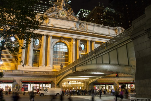 Walking by Grand Central Station