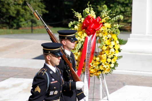 changing of the guard, arlington