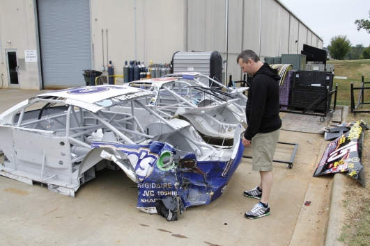 These are chassis from wrecks which cannot be repaired and hence need to be destroyed to prevent re-use