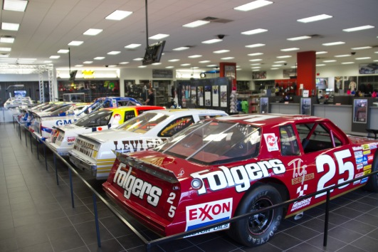 The Hendricks Motorsport museum and gift shop