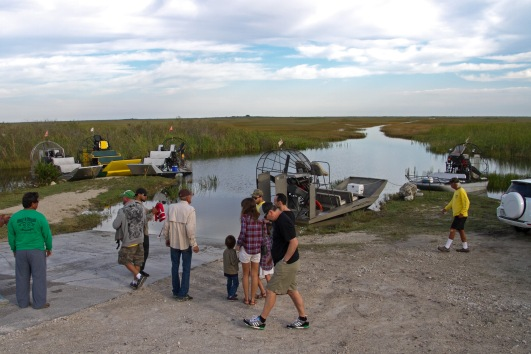 Airboat tours, Florida Everglades