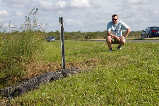 This guy (the one on the left at least) was a bit of a traffic stopper