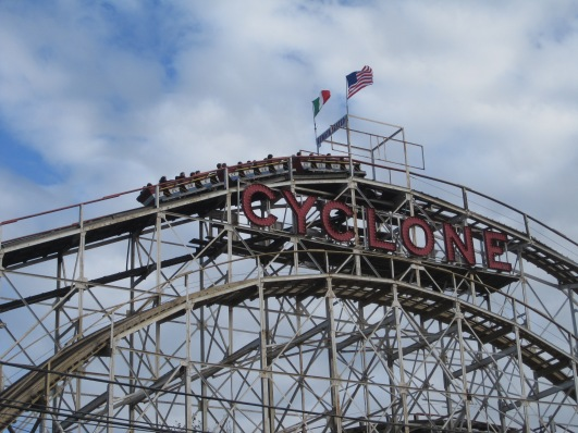 rollercoaster, coney island