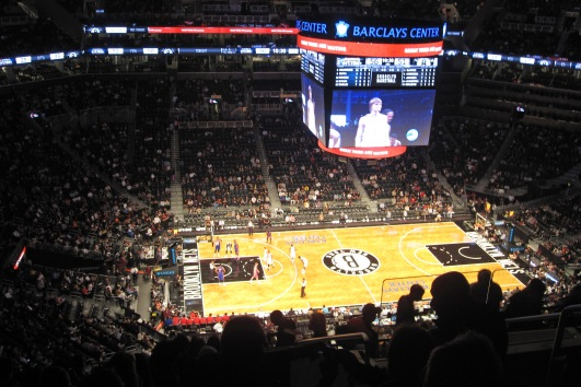 nets vs pistons, barclay centre
