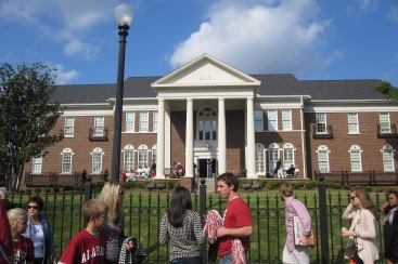 Lots of fraternity and sorority houses around here - meet Delta Kappa Epsilon