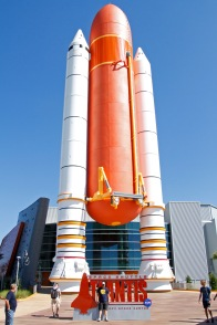 Entry to the Space Shuttle Atlantis Complex