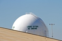 Liquid oxygen tank, Kennedy Space Centre