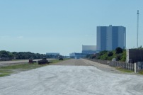 The road along which the fully laden Mobile Launcher Platform speeds at 1mph from the assembly building to the launch platform